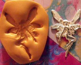fairy polymer clay mold