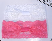5 For 5 Dollars SALE-Lace Interchangeable Headbands-NEW COLORS
