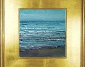 Original plein air oil painting on wood panel.