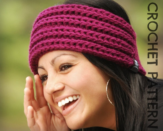 CROCHET HEADBAND PATTERN - Ridgeline Headband
