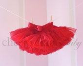 Pettiskirt RED Demi by Cheeky Chic Baby