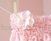 Ruffle Romper VINTAGE PINK - by Cheeky Chic Baby