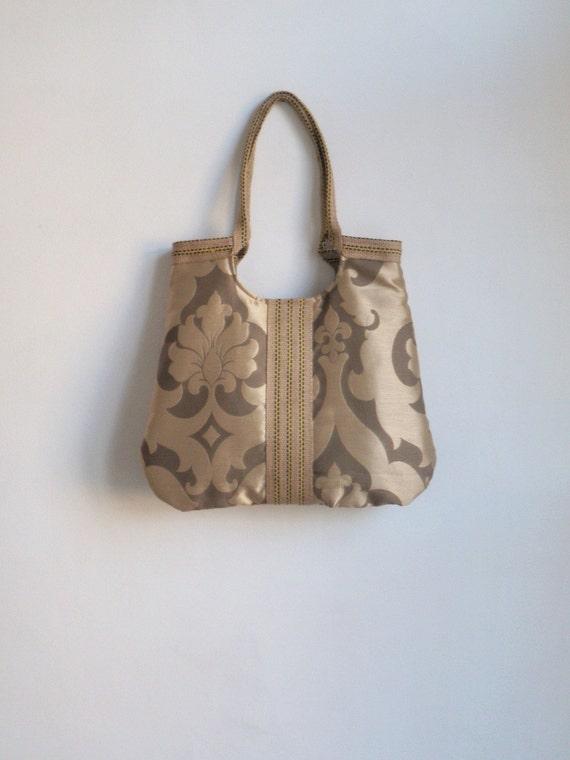 Milano luxe golden tote bag