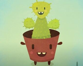 Cactusini / PRINT 8 x 10