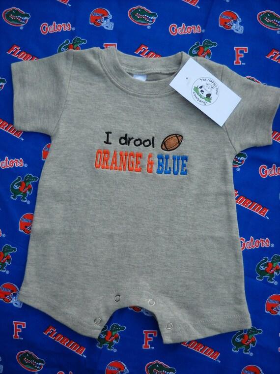 FLORIDA GATORS Boys Infant Romper