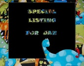 Special listing for Jan