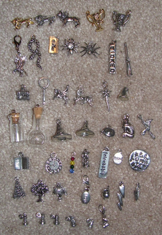 sale harry potter inspired charms this listing by