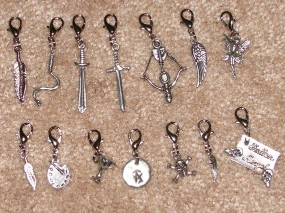 SALE, Mortal Instruments inspired Charms (this listing is for one charm chosen from the list)