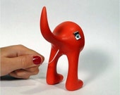 DOG BUTT FLOSS - Clifford Red dental floss dispenser