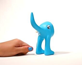 Dog Butt Floss - Blue's Blue Dental Floss Dispenser