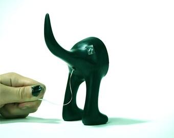 Dog butt floss  - Lucky lab dental floss dispenser