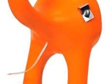 Dog Butt Floss - Orange Blossom dental floss dispenser