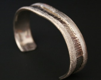 INTROVERSION - Sterling Silver Cuff Bracelet