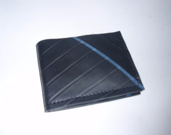 Recycled Rubber Bifold Snap Wallet