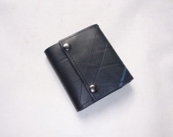 Recycled Rubber Trifold 5 Wallet