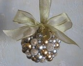 Petite Silver and Gold Pearl