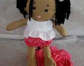 Sadie's Babies N'Diji Doll- Heart Ringlets