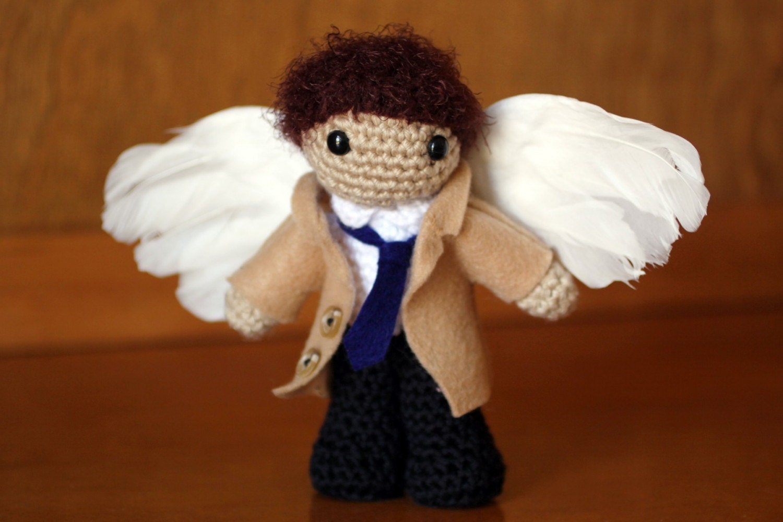 Amigurumi Klesik Doll : Castiel Amigurumi Doll