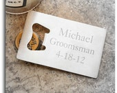 Engraved Stainless Steel Credit Card Bottle Opener, FREE SHIPPING, for Groomsman, Grooms, Wedding Favors, Home Bar by Jackglass on Etsy