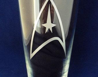 Etched Star Trek Trekkie Hiball Tumbler by Jackglass on Etsy
