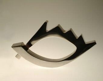 Fine silver Fish eye bracelet