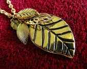 Necklace - Leaves Galore