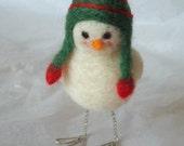 Snow Birds in Stocking Caps