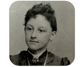 Tintype - Portrait of a Young Girl - Qty 1 - Lot 896
