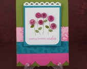 Birthday Wishes Handmade Card