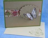 Soaring By Handmade Card
