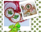 Dragon Theme - Birthday Custom Package - Set of 30