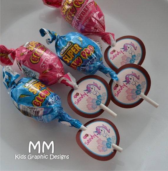 baby shower favors lollipops