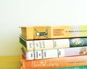 Vintage Children's Literature - Set of Five 1950s and 1960s Novels - Instant Collection