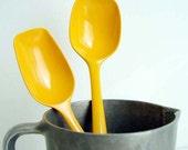 Yellow-Orange Rosti Mepal Melamine Serving Spoons