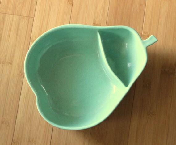 Gorgeous Large Antique 1950's Vintage Pfaltzgraff Pear Shaped Bowl by Uptown Vintage
