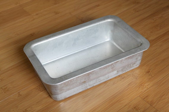 Vintage Professional Quality Air Bake Bread Loaf Pan By Uptown