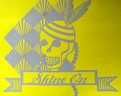 Shine On paper-cut
