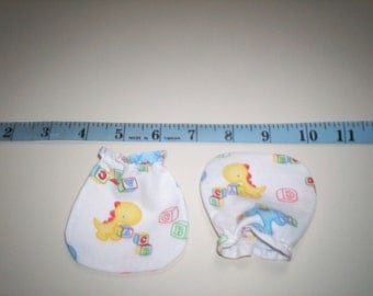 ON SALE Baby Dinos Baby Mitts