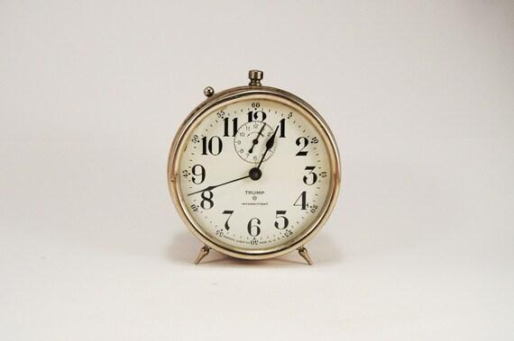 Antique Metal Alarm Clock