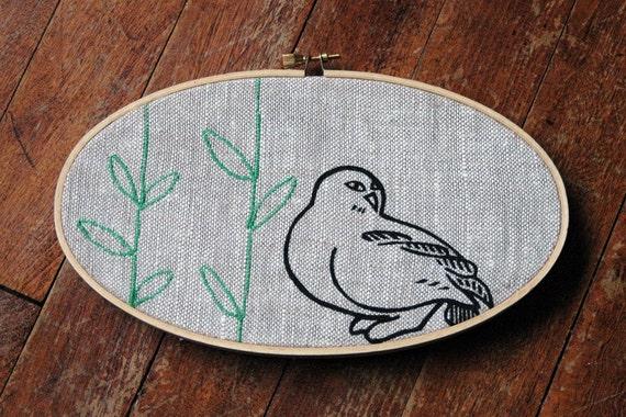 Wall art - Sweet artic owl