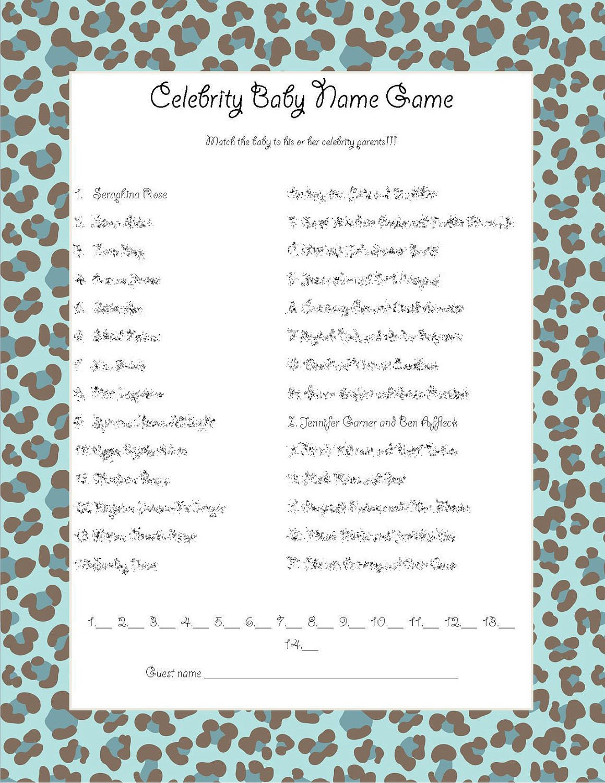Celebrity Baby Photos I Quiz - By CornFarmer - Sporcle