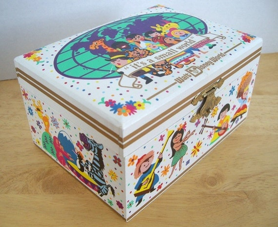 it 39 s a small world jewelry music box walt disney