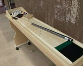Cue Bowling Tournament Table Top Bowling Game