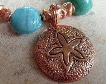 Copper Sea Charm Bracelet