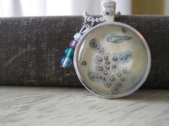 Silver Vintage Metamorphosis Pendant