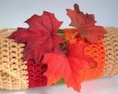 25% OFF Wine Sock Cozy Gift Bag Autumn Leaves Fall Foliage
