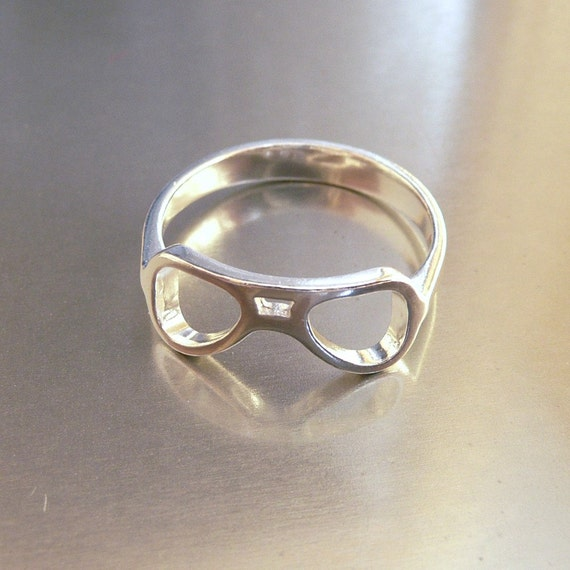 Aviator Glasses Ring