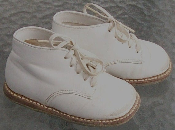 Vintage Buster Brown Leather Shoes