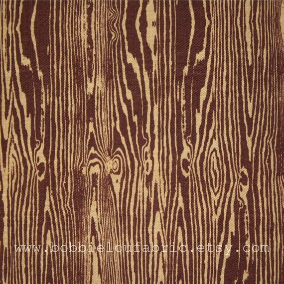 Joel Dewberry Woodgrain in Bark - Fat Quarter