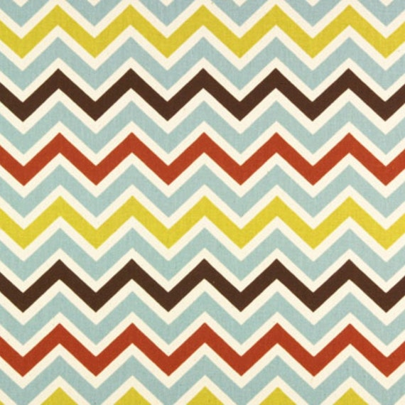 SALE - Premier Prints Fabric Zoom Zoom Chevron in Village Natural - By the Yard